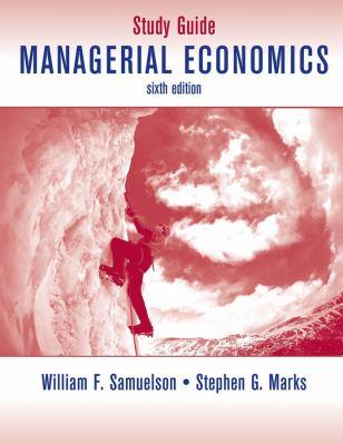 Managerial Economics 9780470423462