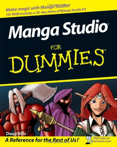 Manga Studio for Dummies [With CDROM] 9780470129869