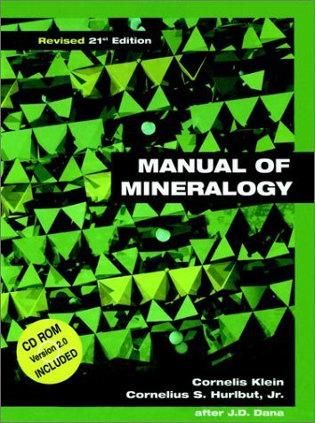 Manual of Mineralogy (Revised) [With *] 9780471312666