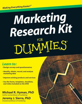 Marketing Research Kit for Dummies [With CDROM] 9780470520680