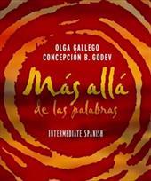 Mas Alla de Las Palabras, Intermediate Spanish [With CD] 1565605