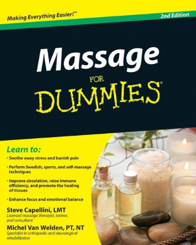 Massage for Dummies 9780470587386