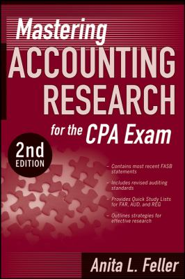 Mastering Accounting Research for the CPA Exam 9780470293386