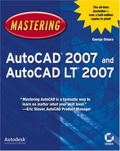 Mastering AutoCAD 2007 and AutoCAD LT 2007 [With CDROM] 9780470008768