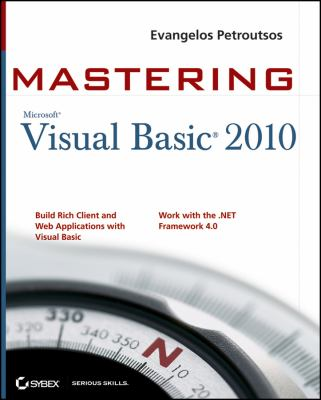 Mastering Microsoft Visual Basic 2010 9780470532874