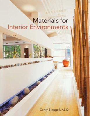 Materials for Interior Environments 9780470114285