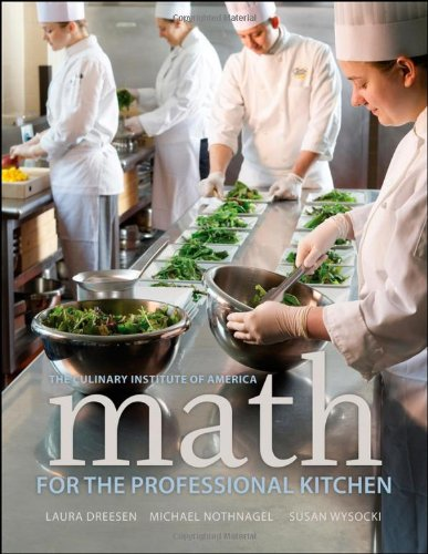 Math for the Professional Kitchen 9780470508961