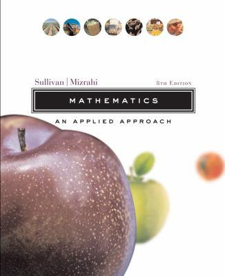 Mathematics: An Applied Approach 9780471327844
