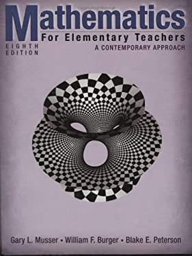 Mathematics for Elementary Teachers: A Contemporary Approach [With CDROM] 9780470105832