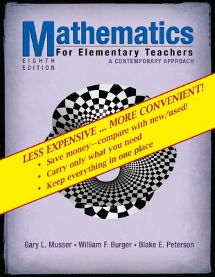 Mathematics for Elementary Teachers: A Contemporary Approach 9780470279915