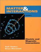 Matter and Interactions II: Electric & Magnetic Interactions 1558384