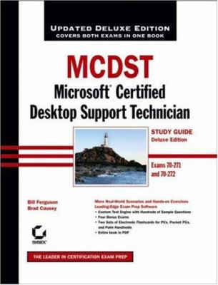 McDst: Microsoft Certified Desktop Support Technician [With CDROM] 9780471789291