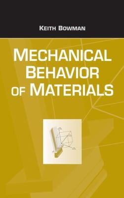 Mechanical Behavior of Materials 9780471241980