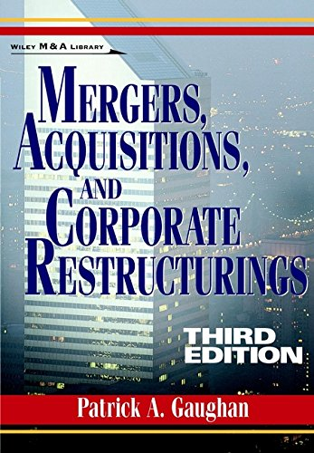 Mergers, Acquisitions, and Corporate Restructuring 9780471121961