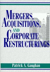 Mergers, Acquisitions, and Corporate Restructuring 1544952