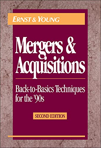 Mergers and Acquisitions 9780471578185