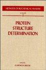 Protein structure determination Clarence H. Suelter