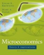 Microeconomic: Theory and Applications 9780471679431
