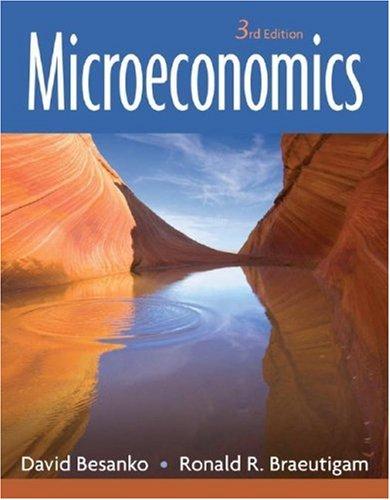 Microeconomics 9780470049242