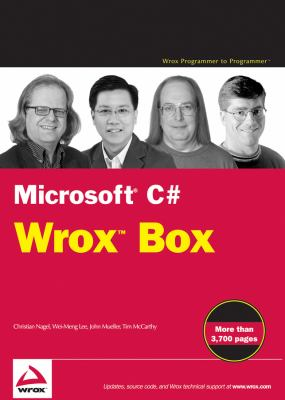 Microsoft C# 2008 Wrox Box: Professional C# 2008, C# 2008 Programmer's Reference, C# Design and Development, .Net Domain-Driven Design with C# Pro 9780470472057