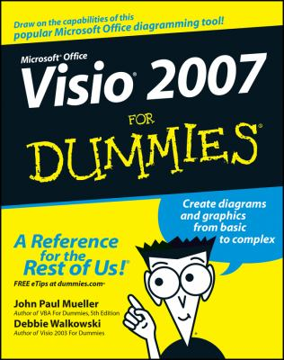 Microsoft Office VISIO 2007 for Dummies 9780470089835
