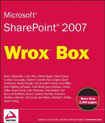 Microsoft Sharepoint 2007 Wrox Box 9780470431948