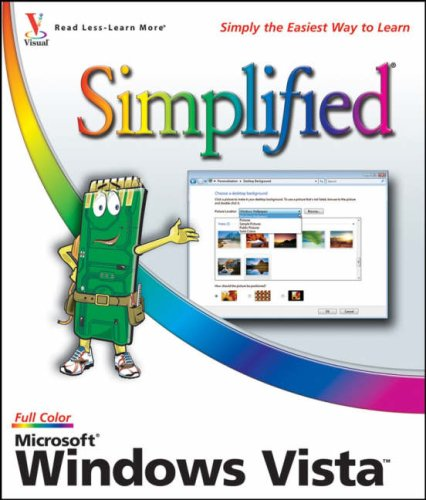 Microsoft Windows Vista Simplified 9780470045756