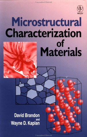 Microstructural Characterization of Materials 9780471985020