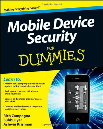 Mobile Device Security for Dummies 9780470927533