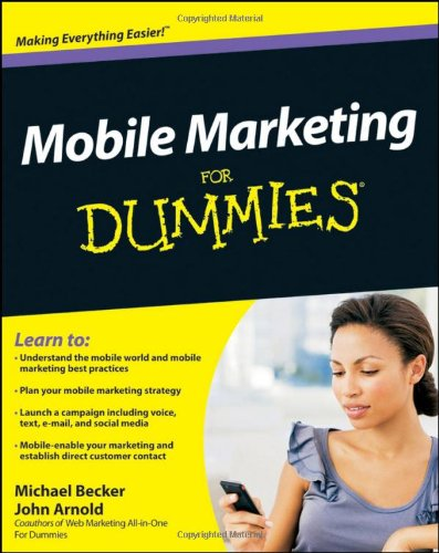 Mobile Marketing for Dummies 9780470616680