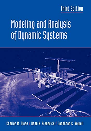 Modeling and Analysis of Dynamic Systems 9780471394426