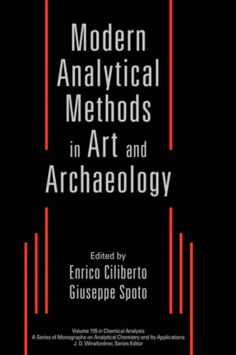 Modern Analytical Methods in Art and Archeology 9780471293613