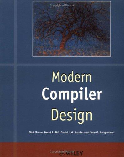 Modern Compiler Design 9780471976974