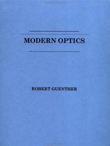 Modern Optics 9780471605386