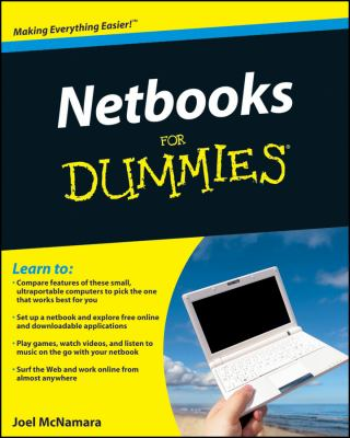 Netbooks for Dummies 9780470521236