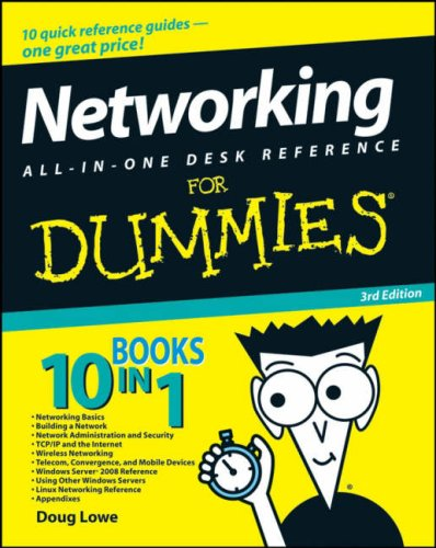 Networking All-In-One Desk Reference for Dummies 9780470179154