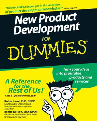 New Product Development for Dummies 9780470117705