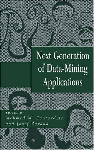 Next Generation of Data-Mining Applications 9780471656050