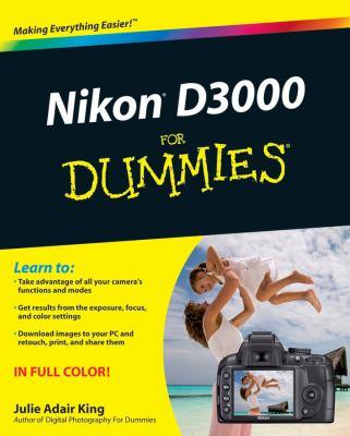 Nikon D3000 for Dummies 9780470578940