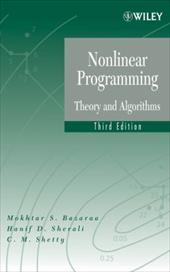 Nonlinear Programming: Theory and Algorithms 1560401