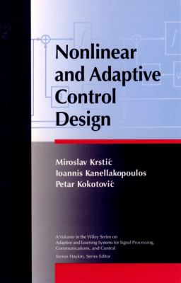 Nonlinear and Adaptive Control Design 9780471127321
