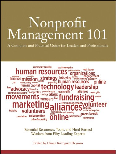 Nonprofit Management 101: A Complete and Practical Guide for Leaders and Professionals 9780470285961
