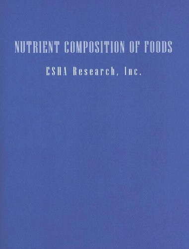 Nutrient Composition of Foods 9780471713098
