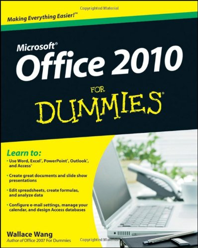 Office 2010 for Dummies 9780470489987