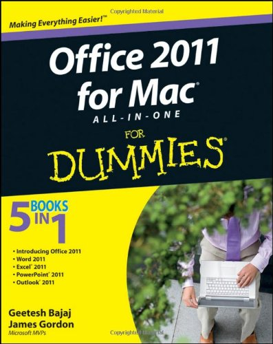 Office 2011 for Mac All-In-One for Dummies 9780470903711