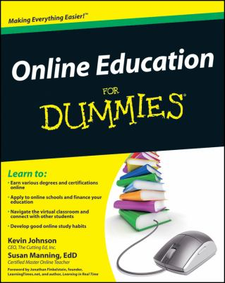 Online Education for Dummies 9780470536209