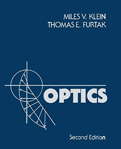 Optics 9780471872979