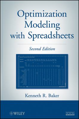 Optimization Modeling with Spreadsheets 9780470928639