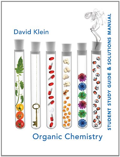 Organic Chemistry Student Study Guide & Solutions Manual 9780471757399