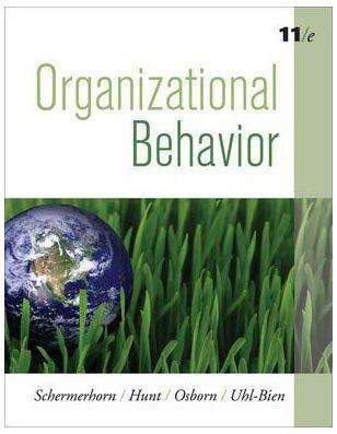 Organizational Behavior - 11th Edition